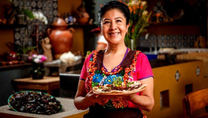 cocinera tradicional Celia Florián