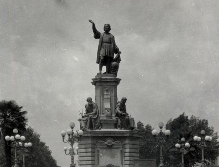Monumento a Cristóbal Colón se despide del Paseo de la Reforma