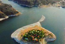 Isla de Tzibanzá se inunda ante el crecimiento de la presa Zimapán