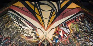 La Marcha de la Humanidad en la Tierra y hacia el Cosmos, el mural más grande del mundo que debes visitar en CDMX