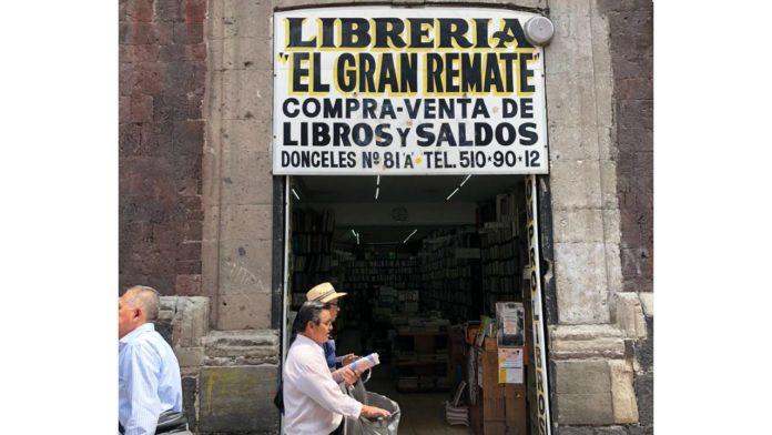 librerías del centro histórico