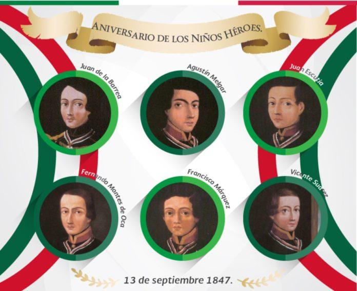 ¿De qué niño héroe son los restos que yacen en la Catedral de Puebla?