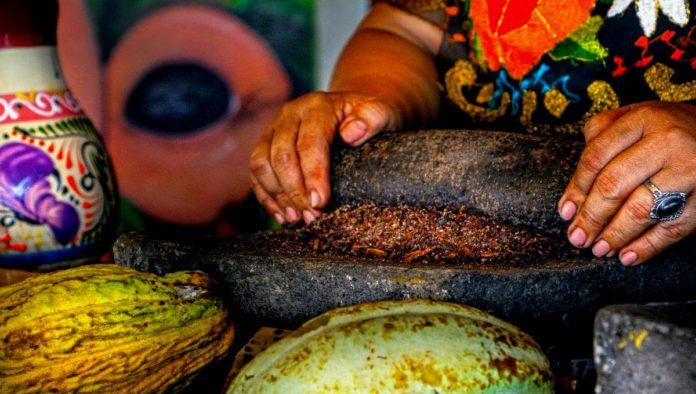 ruta del cacao en Tuxtla Chico