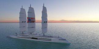 Conoce el superyate de propulsión inspirado en los barcos vikingos