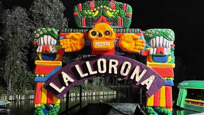la llorona en xochimilco